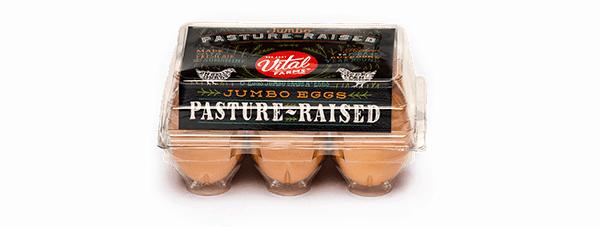 Pasture-Raised Eggs 6 Ct Jumbo Carton