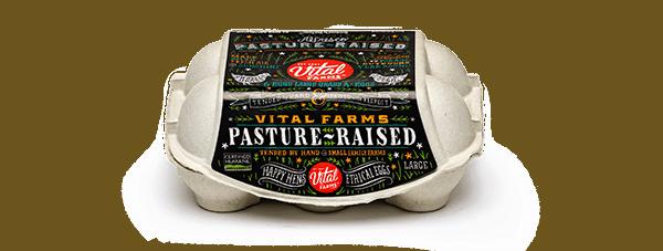 Pasture-Raised Eggs 6 Ct Large Carton